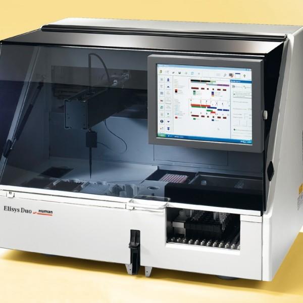 Автоматический ИФА-анализатор на 2 планшета Elisys Duo